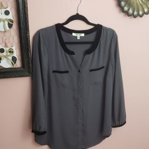 Daniel rainn button down blouse